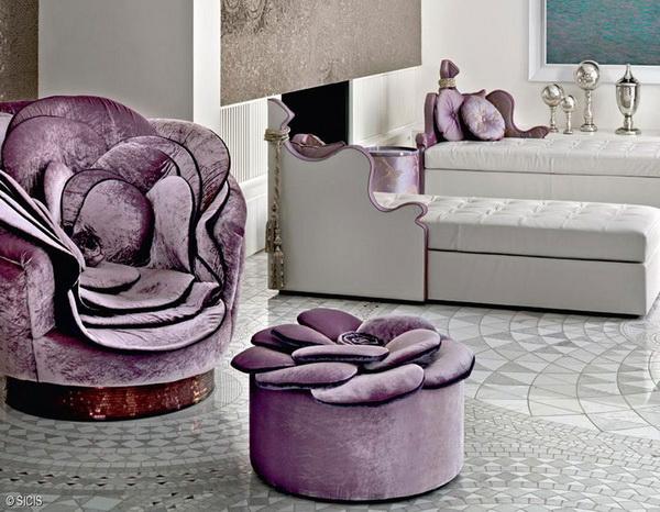 коллекция цветочной мебели от компании  Sicis