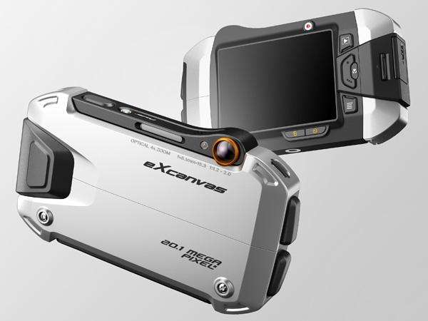 Концепт камеры eXcanvas