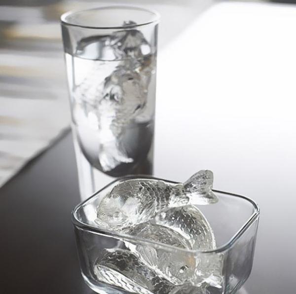 формочки для льда в форме рыбок