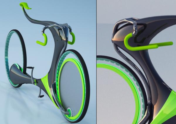Левитирующий велосипед FlyingBike
