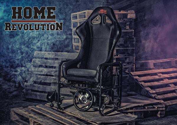 GameSTUL! Home Revolution - кресло симулятор от отечественных разработчиков