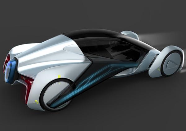 Концепт-кар GlideX 2020
