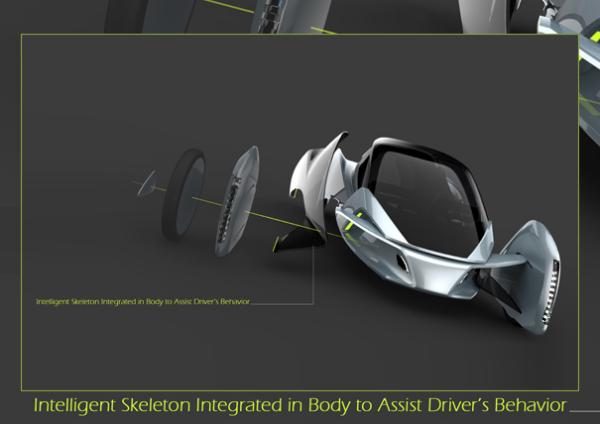 GlideX оборудован системой помощи водителю