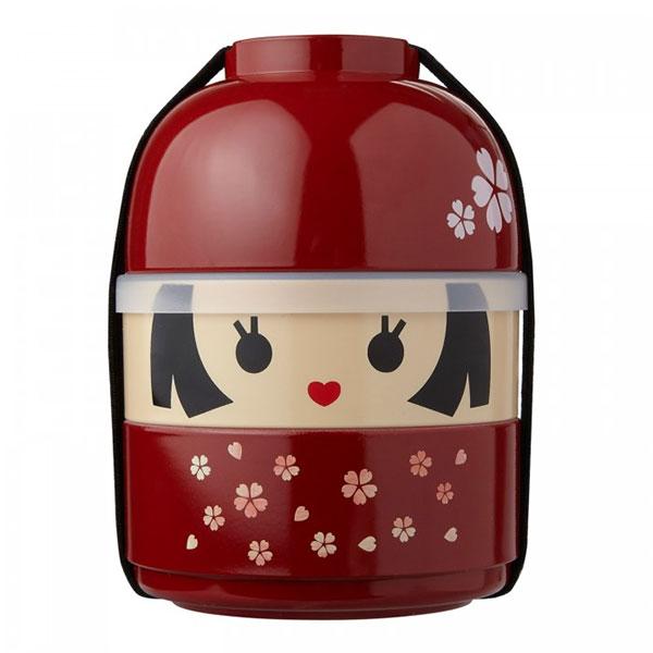 Японский контейнер для обедов Kokeshi Bento
