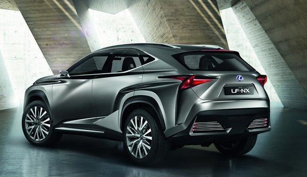 Концепт-кар Lexus LX-NX