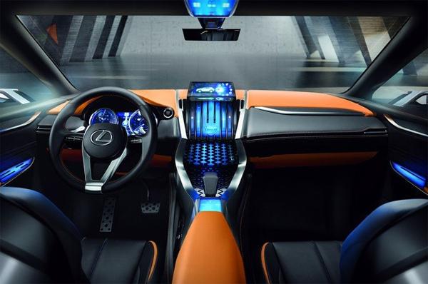 Компактный кроссовер Lexus LX-NX