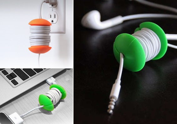 Катушка для проводов от AppleCore - аксессуар, упрощающий общение с кабелями и наушниками