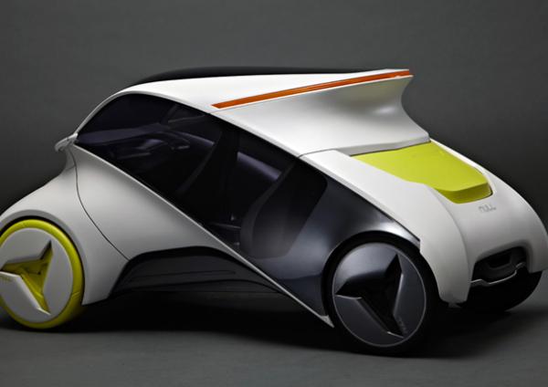 Концепт электромобиля NULL: первый интерактивный автомобиль с магазином приложений