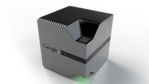 Google Nexus Orbit во включенном состоянии