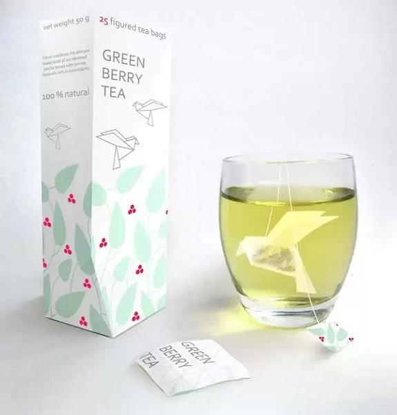 Чайные пакетики-оригами - концепт Натальи Пономаревой