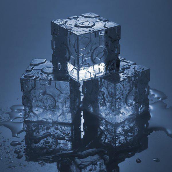 Лед в форме портала