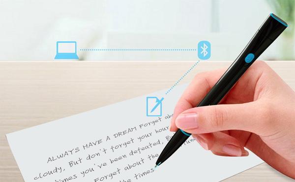 Ручка Recorder, оцифровывающая рукописный текст