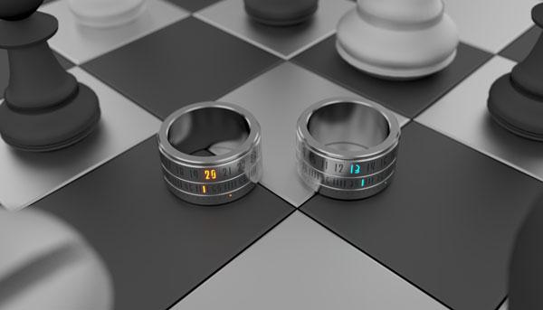 Ring Clock существуют в двух цветах