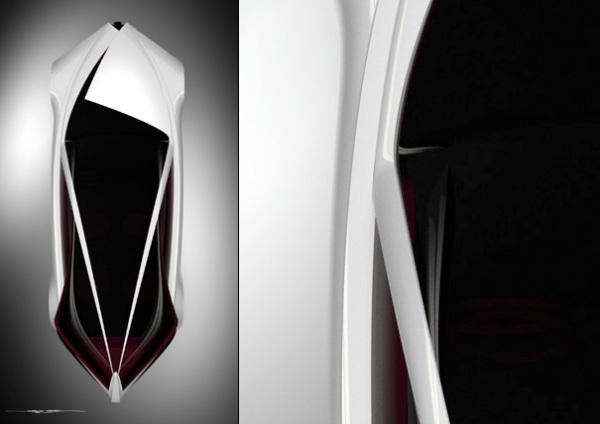 Alfa Romeo Executive Fastback Saloon, вид сверху