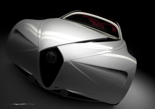 Концепт Alfa Romeo Executive Fastback Saloon