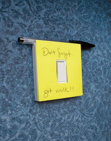 стикеры, которые вешаются на выключатели