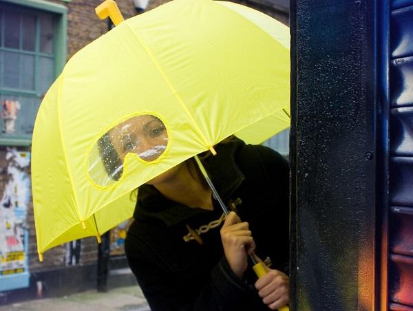 Submarine Umbrella - дизайнерский зонт для безопасного 'погружения' в дождь