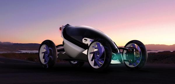 Концепт спортивного внедорожника BMW Tandem