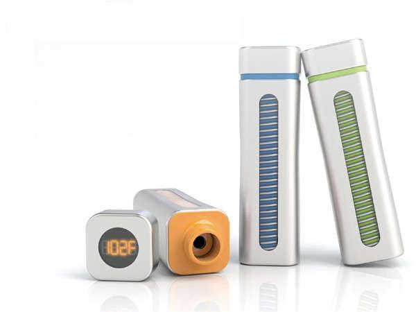 Warm Tech Bottle - концепт идеального термоса от корейских дизайнеров