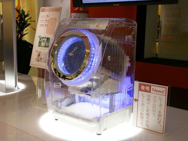 прозрачная стиральная машинка