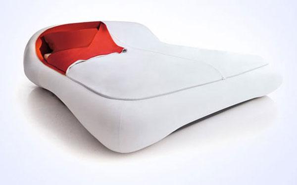 Кровать в форме почтового конверта