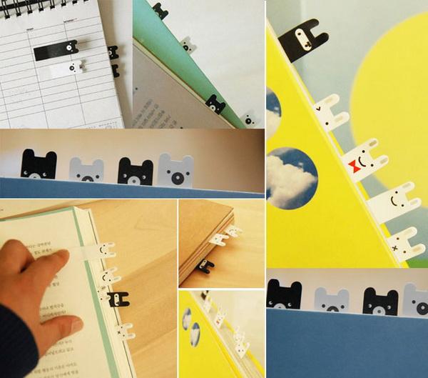 закладка для книг в виде животных