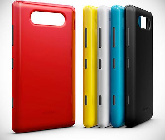 Сменные панельки для смартфонов Nokia на Windows Phone