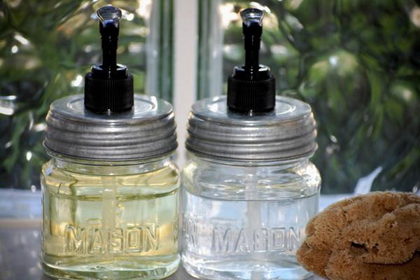 тара для жидкого мыла из банки