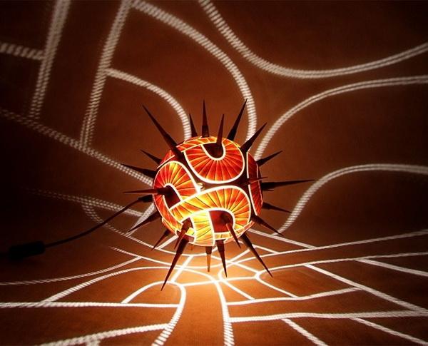 Светильники из тыквы CalabАrte от дизайнера Przemek Krawczynski