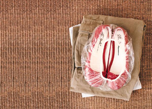 Хранение обуви в бахилах
