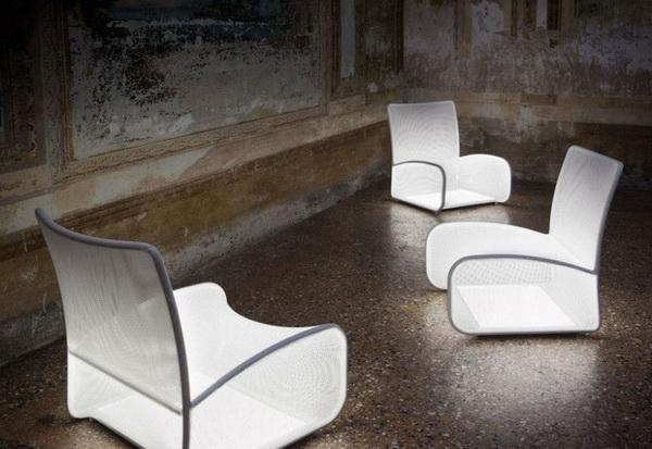 Светящееся кресло Nuvola Di Luce: верхом на облаке