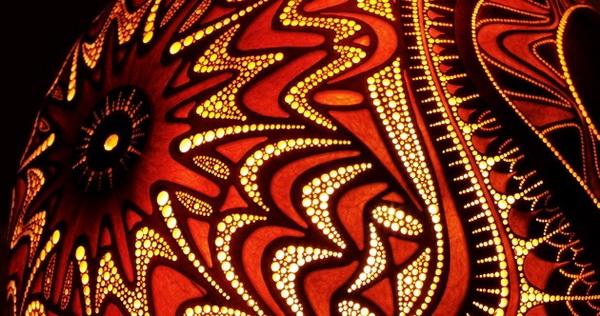 Оригинальные светильники из тыквы CalabАrte от Przemek Krawczynski