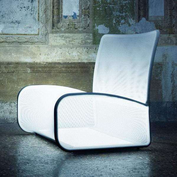 Светящееся кресло Nuvola Di Luce