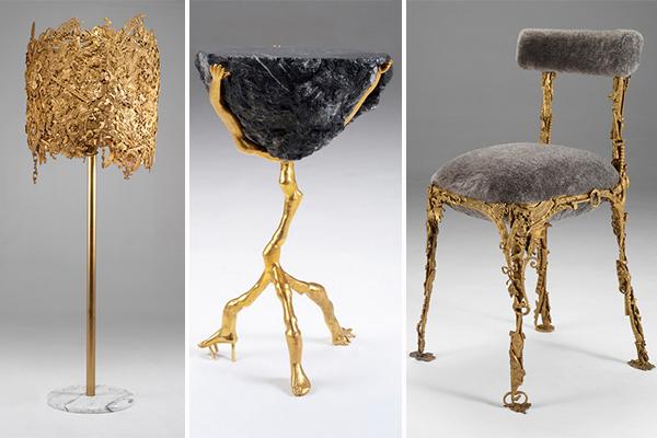 постмодернистская коллекция мебели Brazilian Baroque