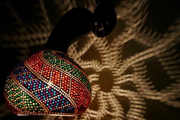 Светильники из тыквы CalabАrte