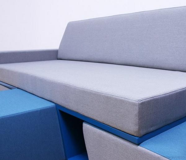 Многофункциональная мебель Prime Sofa: диван, 2 кресла, журнальный стол