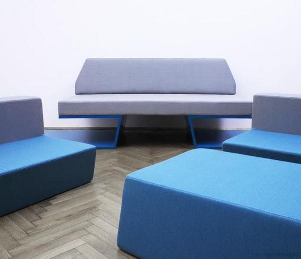 Prime Sofa: диван + 2 кресла + журнальный стол