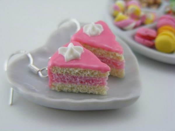 торт с глазурью - серьги от Shay Aaron