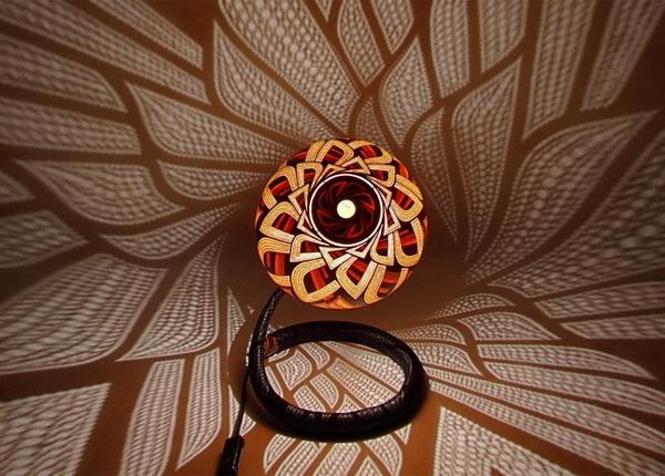 Оригинальные резные светильники из тыквы CalabАrte от Przemek Krawczynski