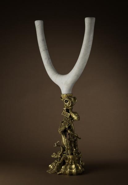 кованый подсвечник из коллекции Brazilian Baroque