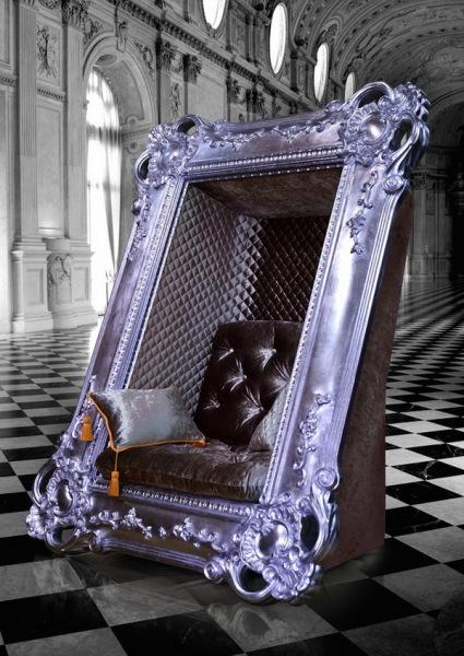 FRAME CHAIR - кресло в резной раме