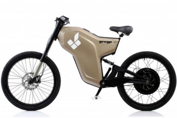 Электрический велосипед Greyp G-12. Новинка от Rimac Automobili