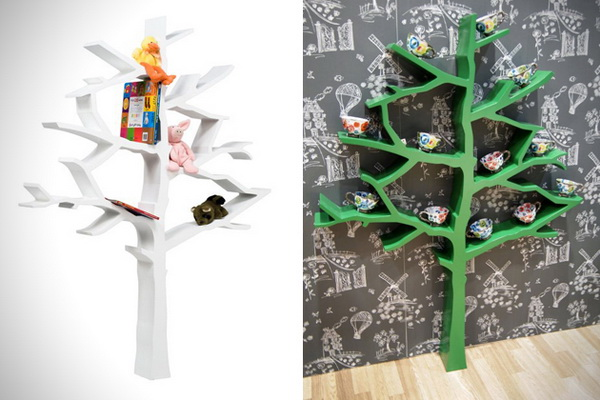 Дерево, хранящее книги