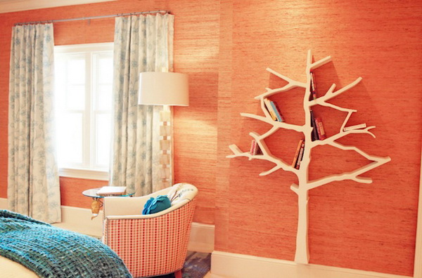 Книжный шкаф-дерево
