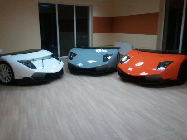 Lamborghini Murcielago: письменный стол