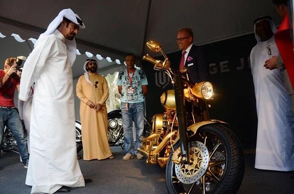 Мотоцикл был представлен на байк-шоу в ОАЭ