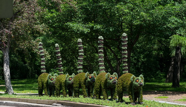 Садовые скульптуры: выставка в Монреале
