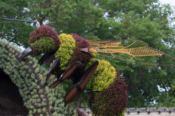 Выставка Mosaicultures Internationales в Монреале