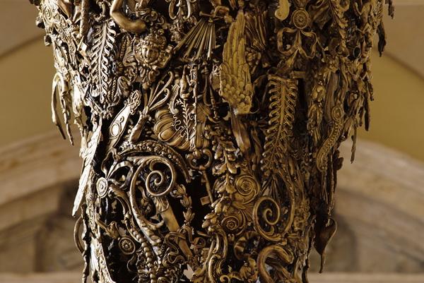 отделка мебели в коллекции Brazilian Baroque