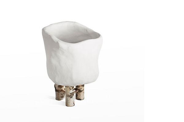 ваза Petit Galetas на деревянных ножках